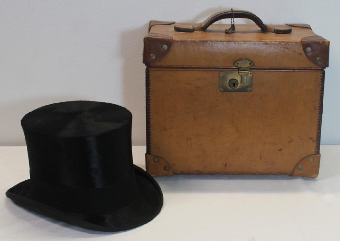 Grouping of Vintage Top Hats. - 2