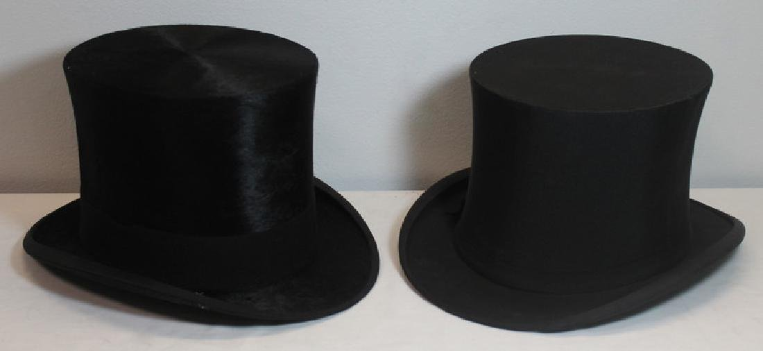 Grouping of Vintage Top Hats. - 6