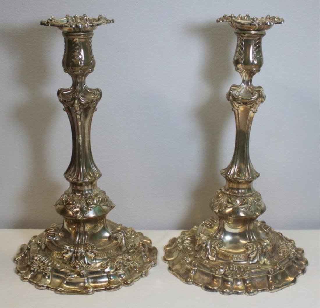 Pair of Large Tiffany & Co. Silver-Soldered
