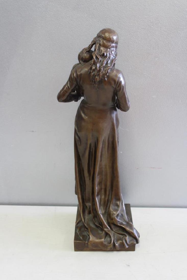 GAUTHERIN,Jean. Signed Bronze CLOTILDE DE SURVILL - 6