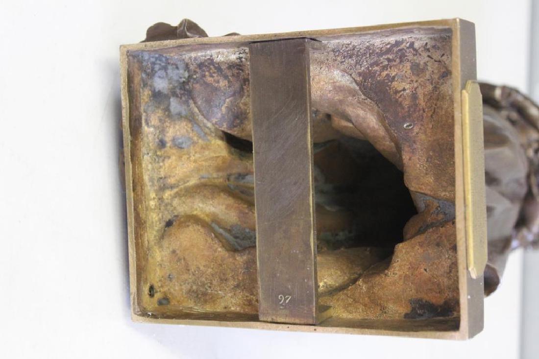 GAUTHERIN,Jean. Signed Bronze CLOTILDE DE SURVILL - 9
