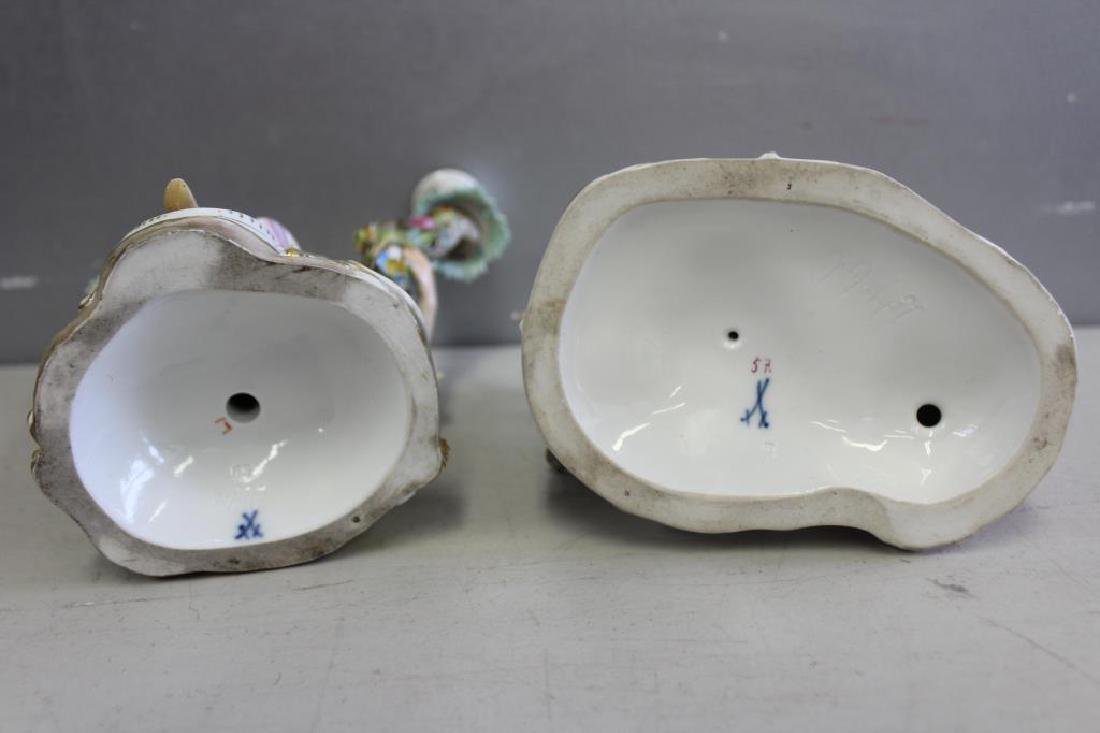 MEISSEN  Lot Of 2 Porcelains to inc . - 8