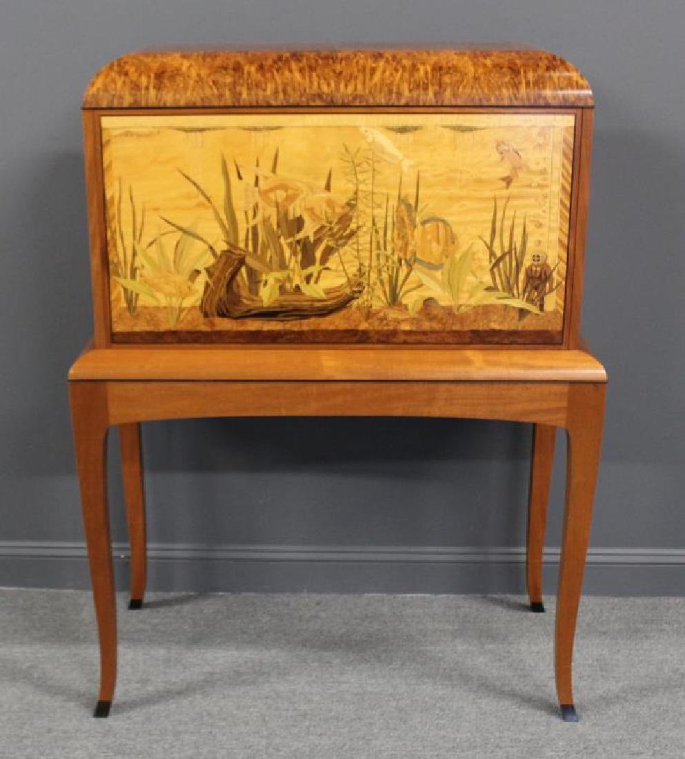 SILAS KOPF, Signed ,Titled and Dated Cabinet