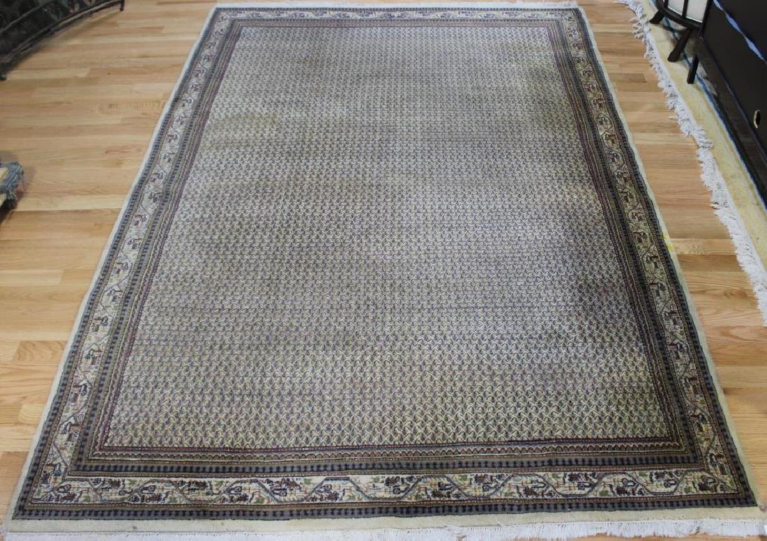 Vintage and Finely Handwoven Carpet.