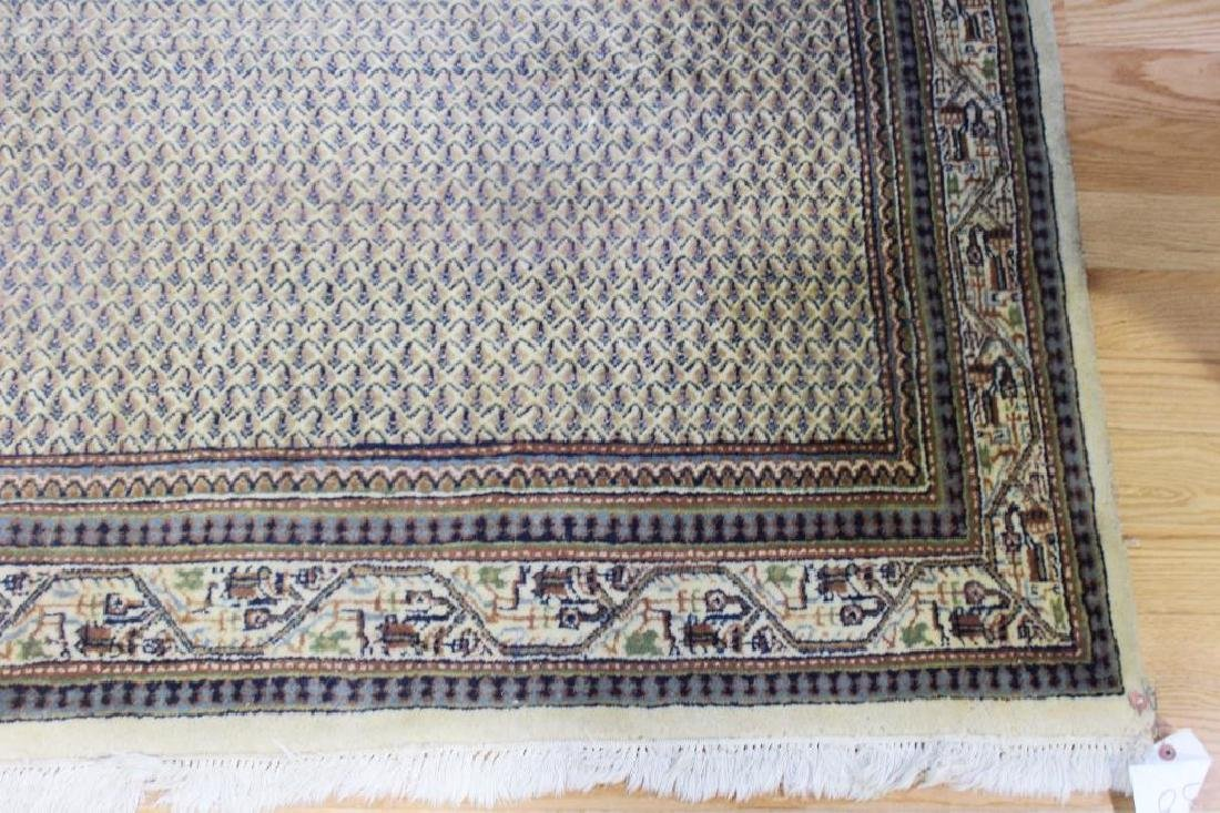 Vintage and Finely Handwoven Carpet. - 2