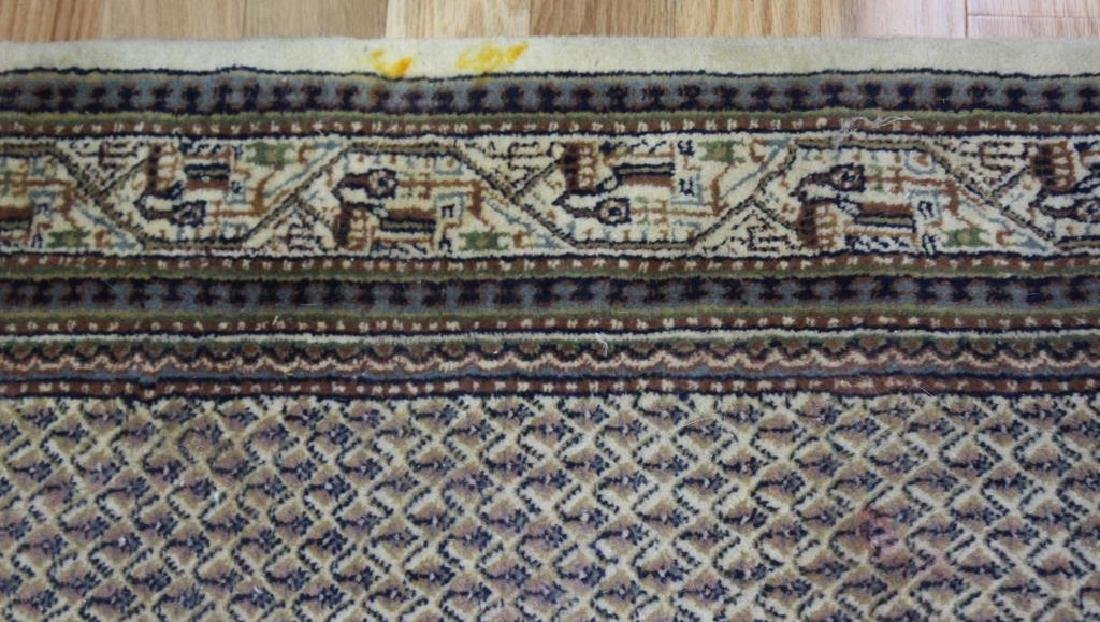 Vintage and Finely Handwoven Carpet. - 4