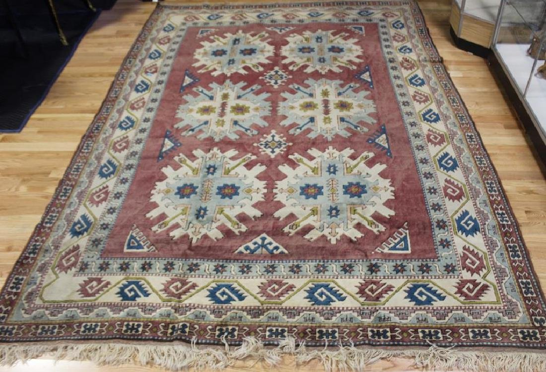 Vintage and Finely Handwoven Kazak Style