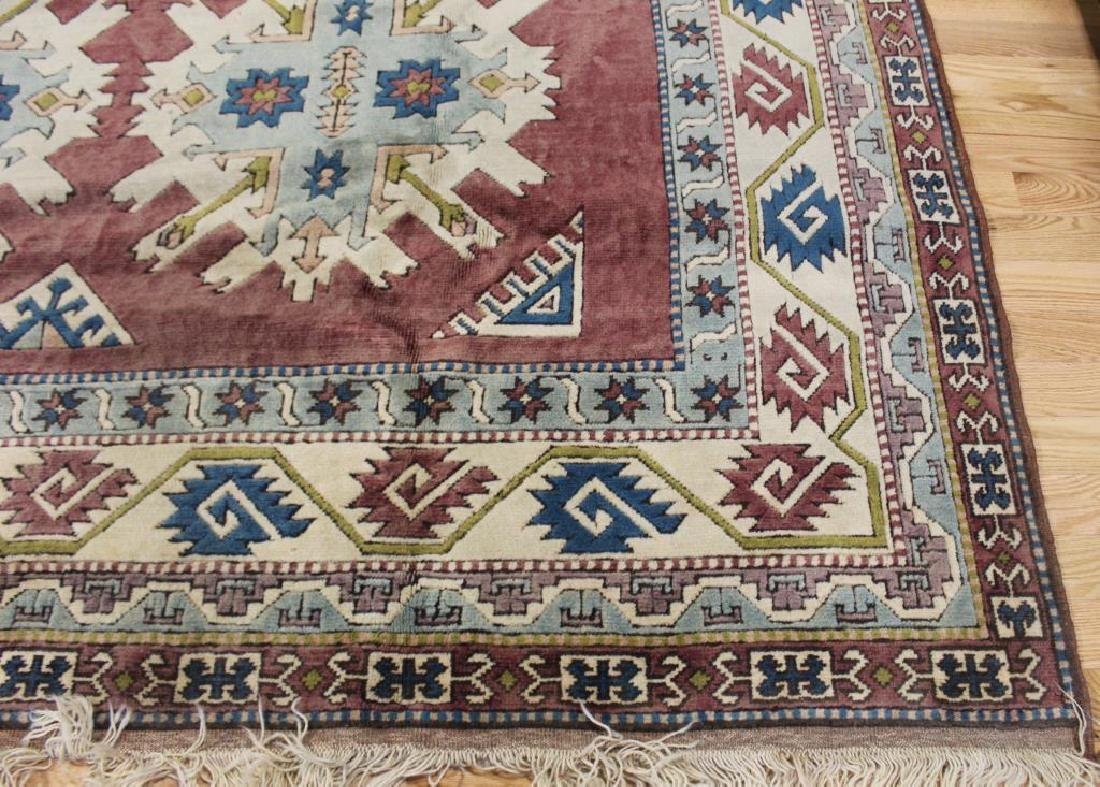 Vintage and Finely Handwoven Kazak Style - 2