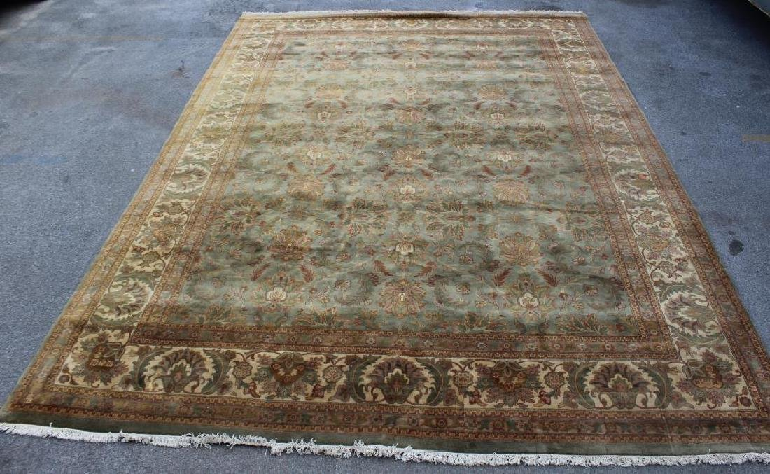 Large Vintage and Finely Handwoven Carpet .