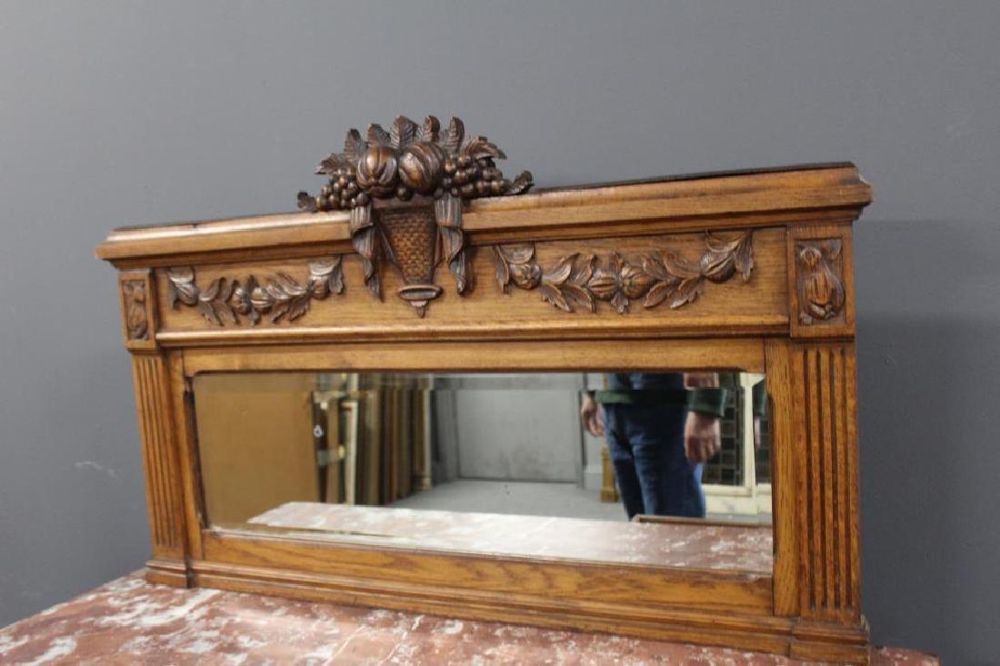 Antique Louis XVI Style Marbletop Server / - 4