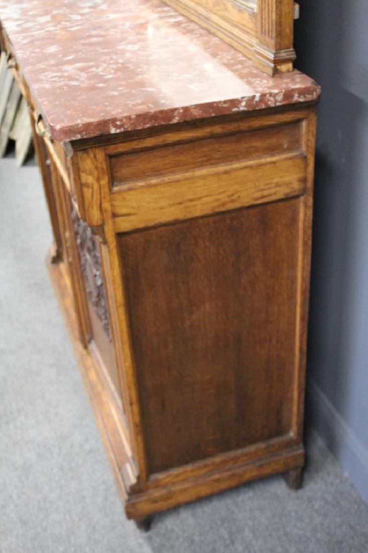 Antique Louis XVI Style Marbletop Server / - 6