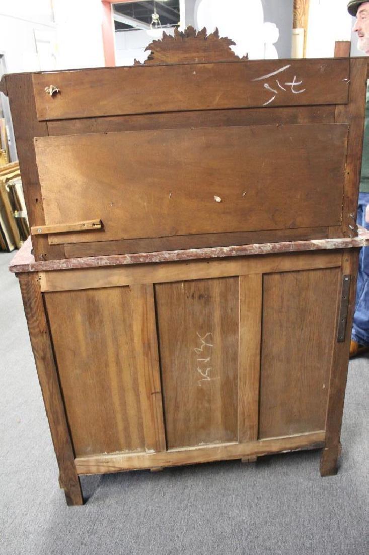 Antique Louis XVI Style Marbletop Server / - 8