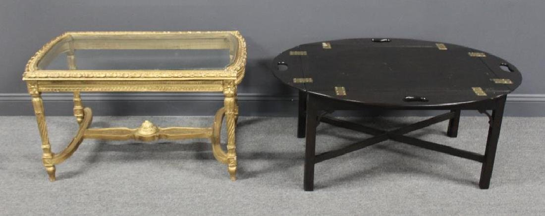 Louis XVI Style Coffee Table Together with a