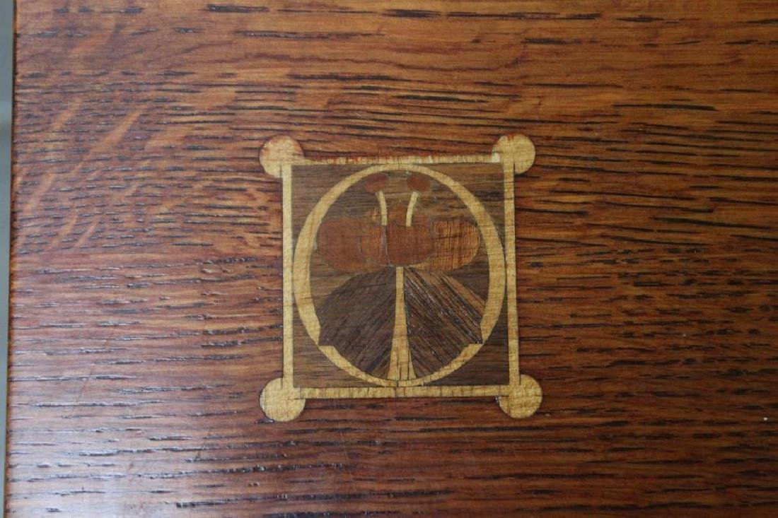 Stickley Audi Arts and Crafts Style Inlaid - 2