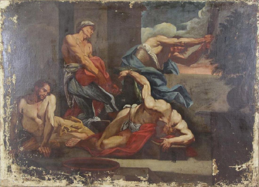 Old Master. Oil on Canvas. Flagellation of Christ.