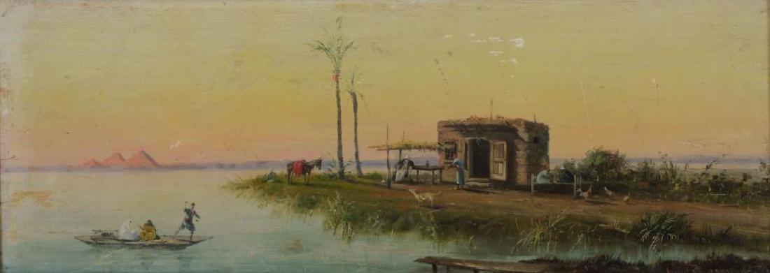 SCOGNAMIGLIO,  Antonio. Oil on Panel. North