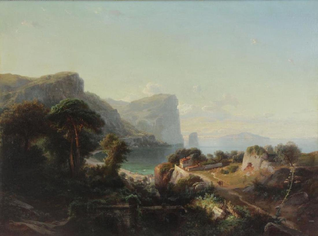 CARMIENCKE, Johann. Oil on Canvas. Italian