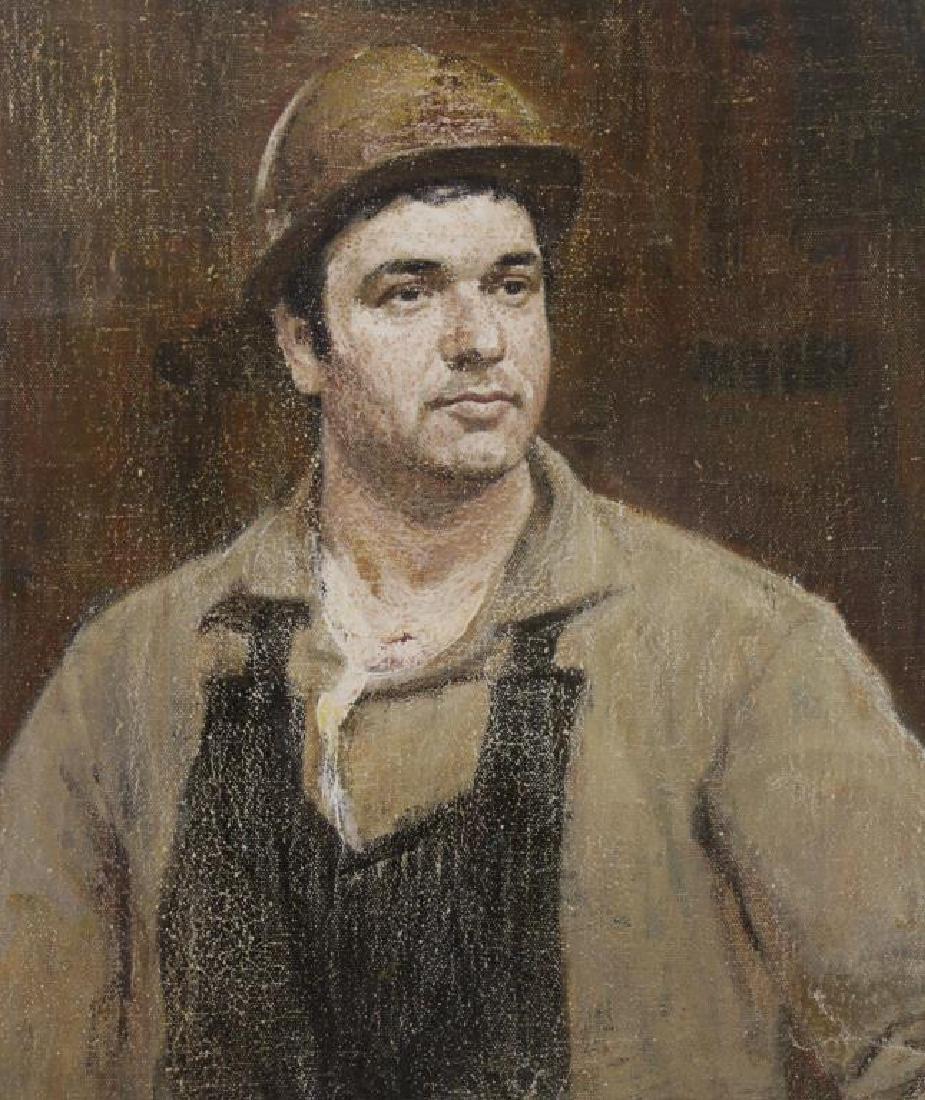 KUZNETSOV, Vladimir Vassilievitch. Oil on Canvas.