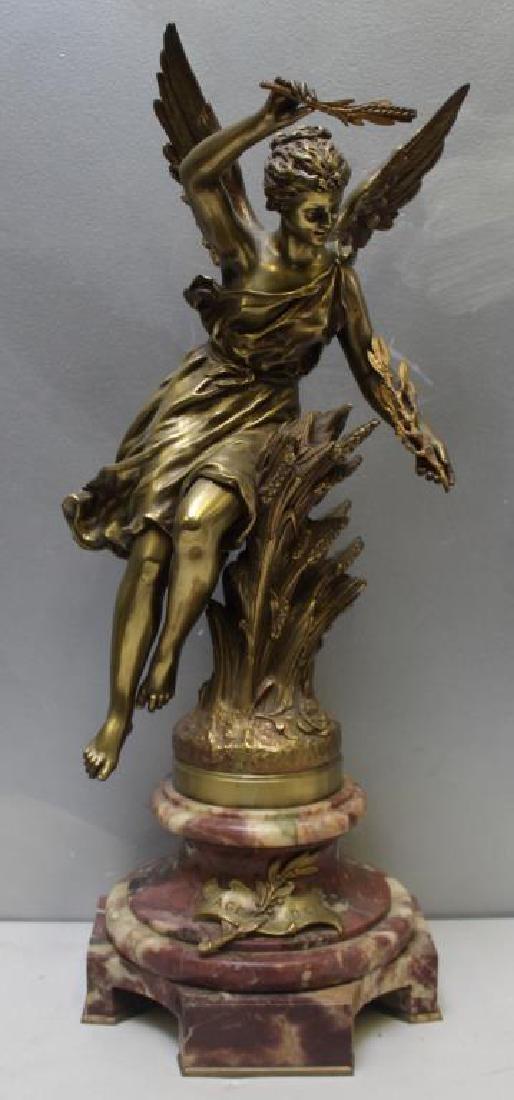 """Rancoulet,Ernest. Signed Bronze Sculpture""""Age Dor"""""""