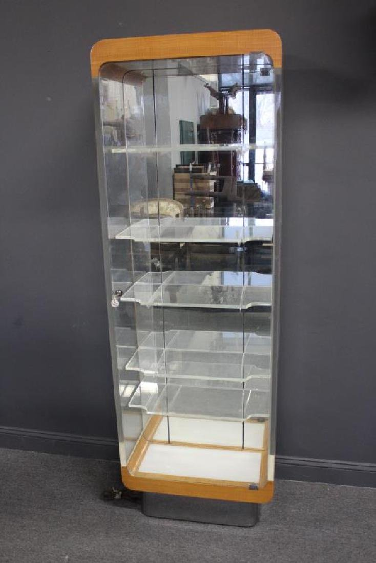 Vladimir Kagan Lucite Display Cabinet.