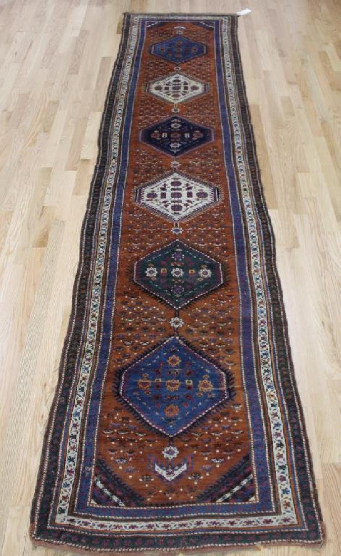 Antique and Finely Handwoven Persian Runner