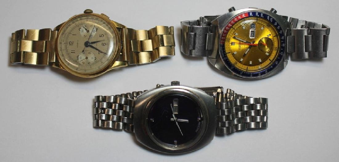JEWELRY. Grouping of Vintage Men's Watches.
