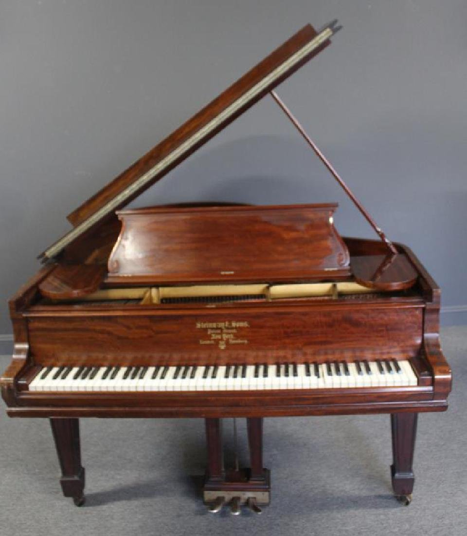 STEINWAY & SONS. Baby Grand Piano Serial # 112069