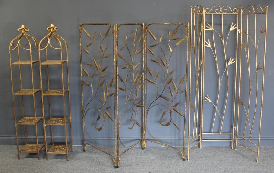 Gilt Metal Decorators Lot To Inc.