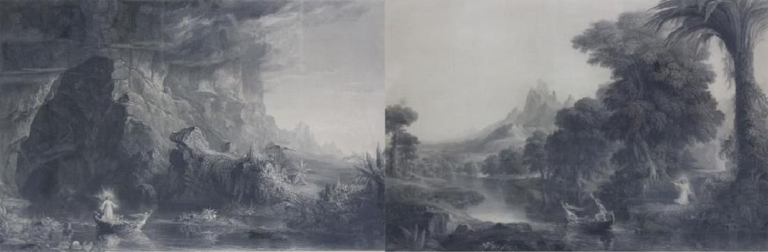 SMILLIE, James. Lot of Two Engravings.
