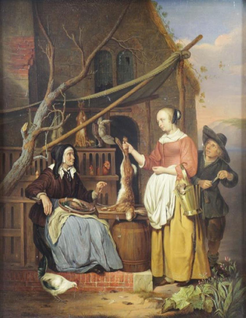 VAN STRIJ, Abraham (Attributed). Oil on Panel.