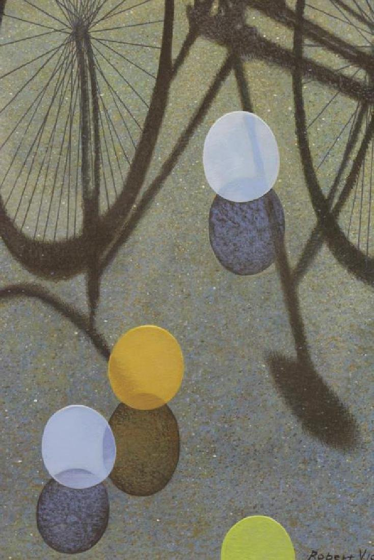 "VICKREY, Robert. ""Eight Balloons"" Egg Tempera on - 4"