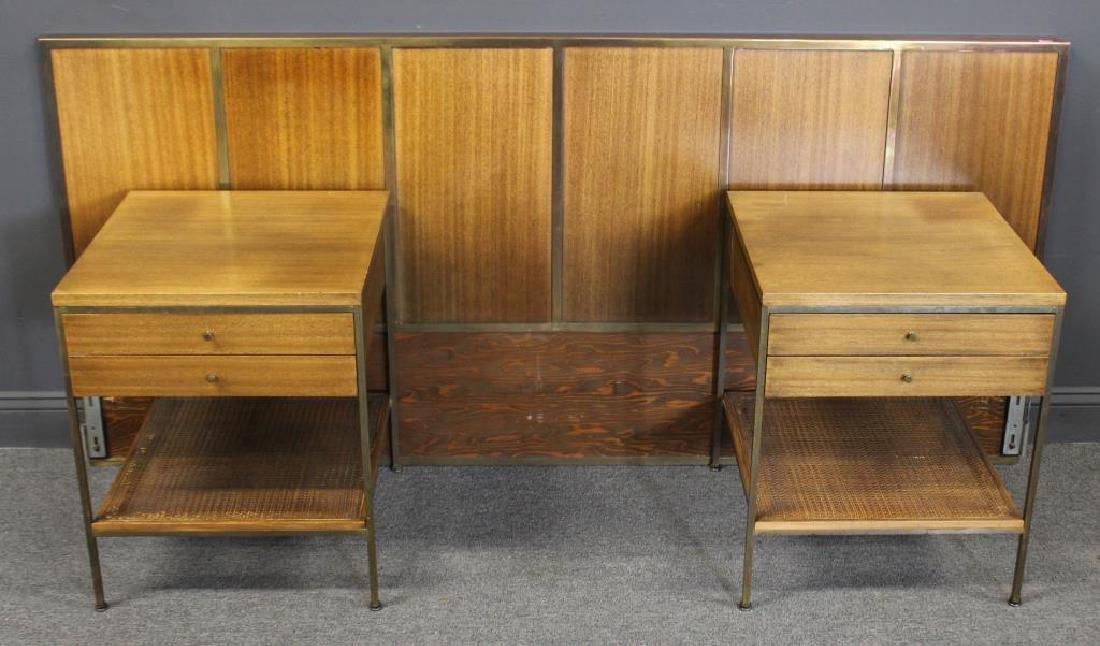 MIDCENTURY. Paul; Mc Cobb End Tables and Headboard