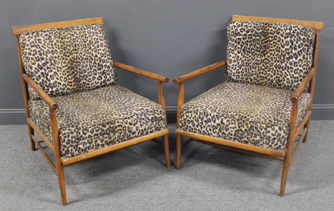 MIDCENTURY. Pair of Lounge Chairs Attributed To