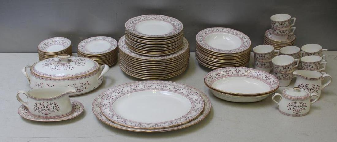 "Royal Crown Derby ""Brittany"" Porcelain Service for"