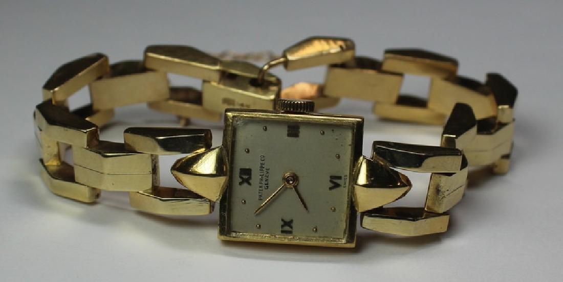 JEWELRY. Ladies 18kt Gold Patek Philippe Watch.