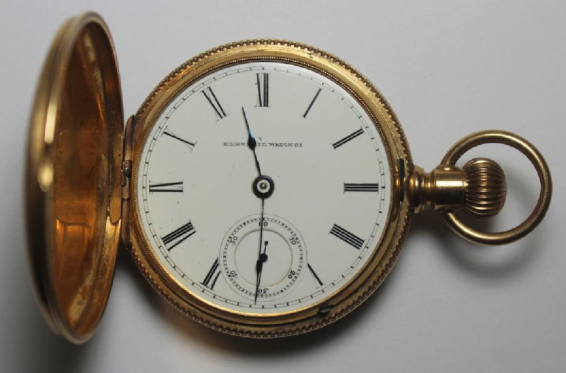 JEWELRY. Elgin 14kt Gold Pocket Watch. No. 2495080