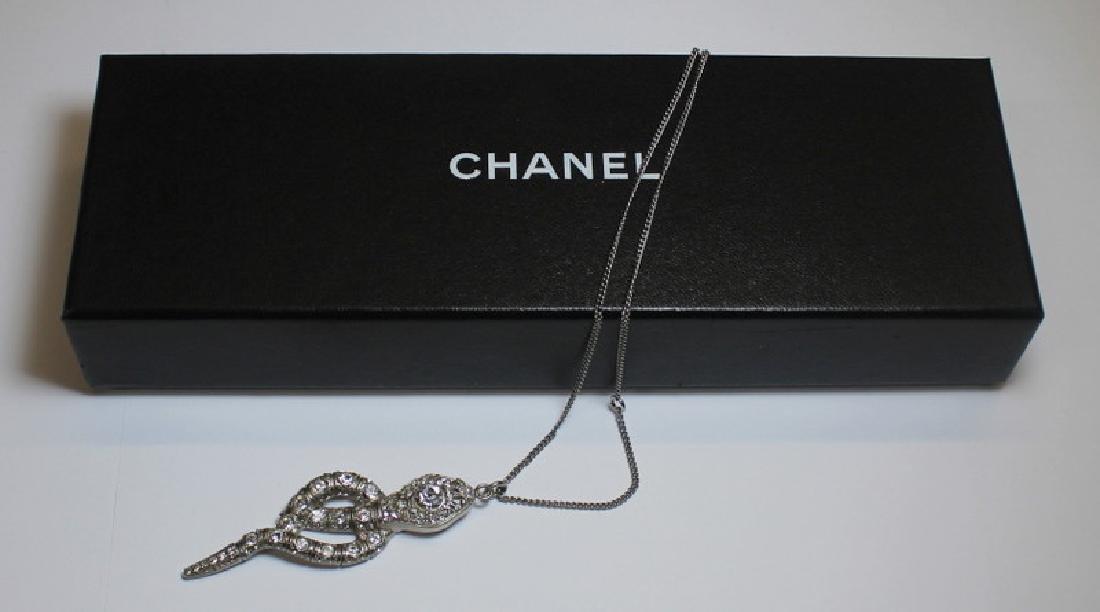 JEWELRY. Italian Chanel Snake Form Necklace.
