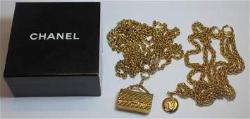 JEWELRY. (2) Vintage Chanel Necklaces.