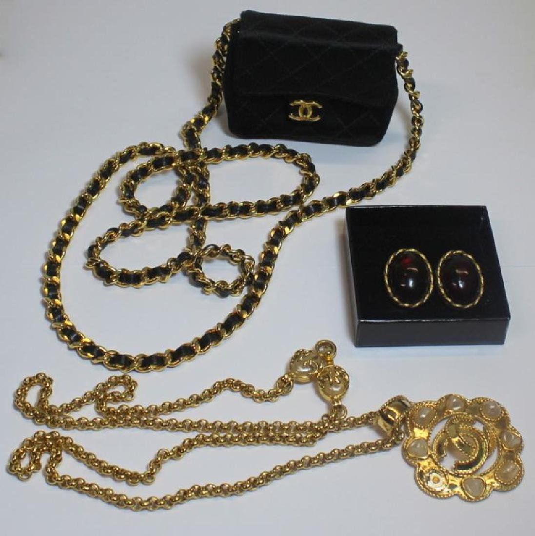 JEWELRY. Chanel Jewelry and Accessory Grouping.