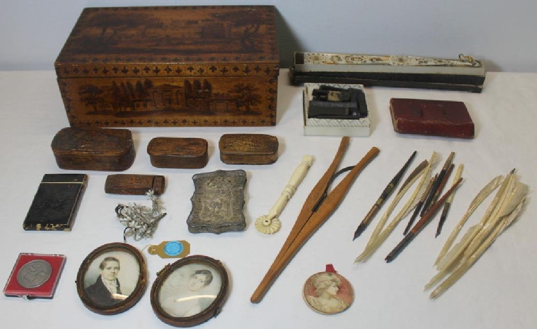 An Eclectic Collection of Antique/Vintage Items.