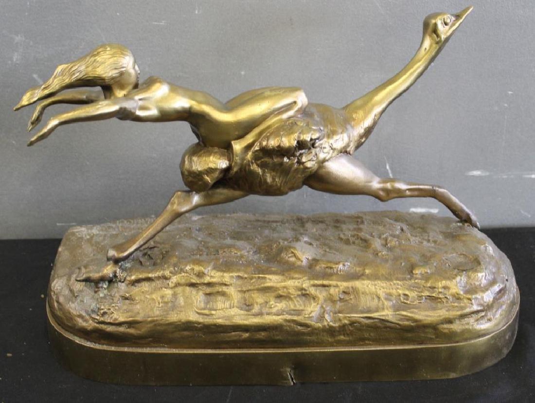 Gilt Bronze Sculpture - 5