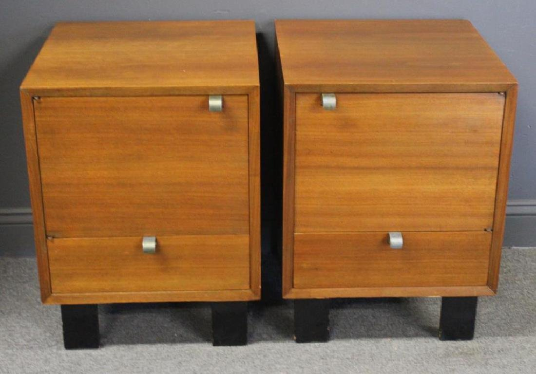 Pair Of George Nelson by Herman Miller End Tables