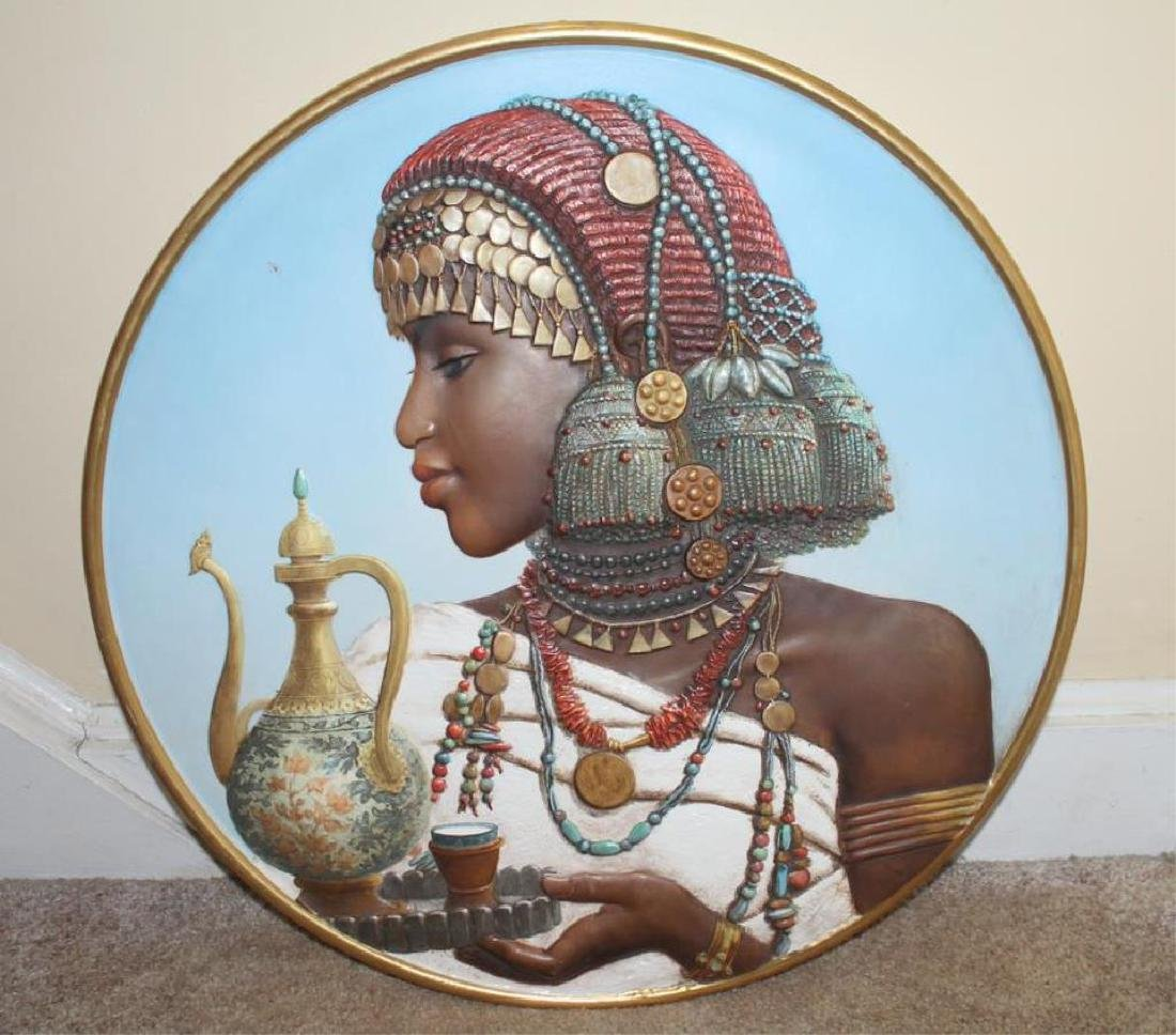Large Antique Porcelain Charger in The Orientalist