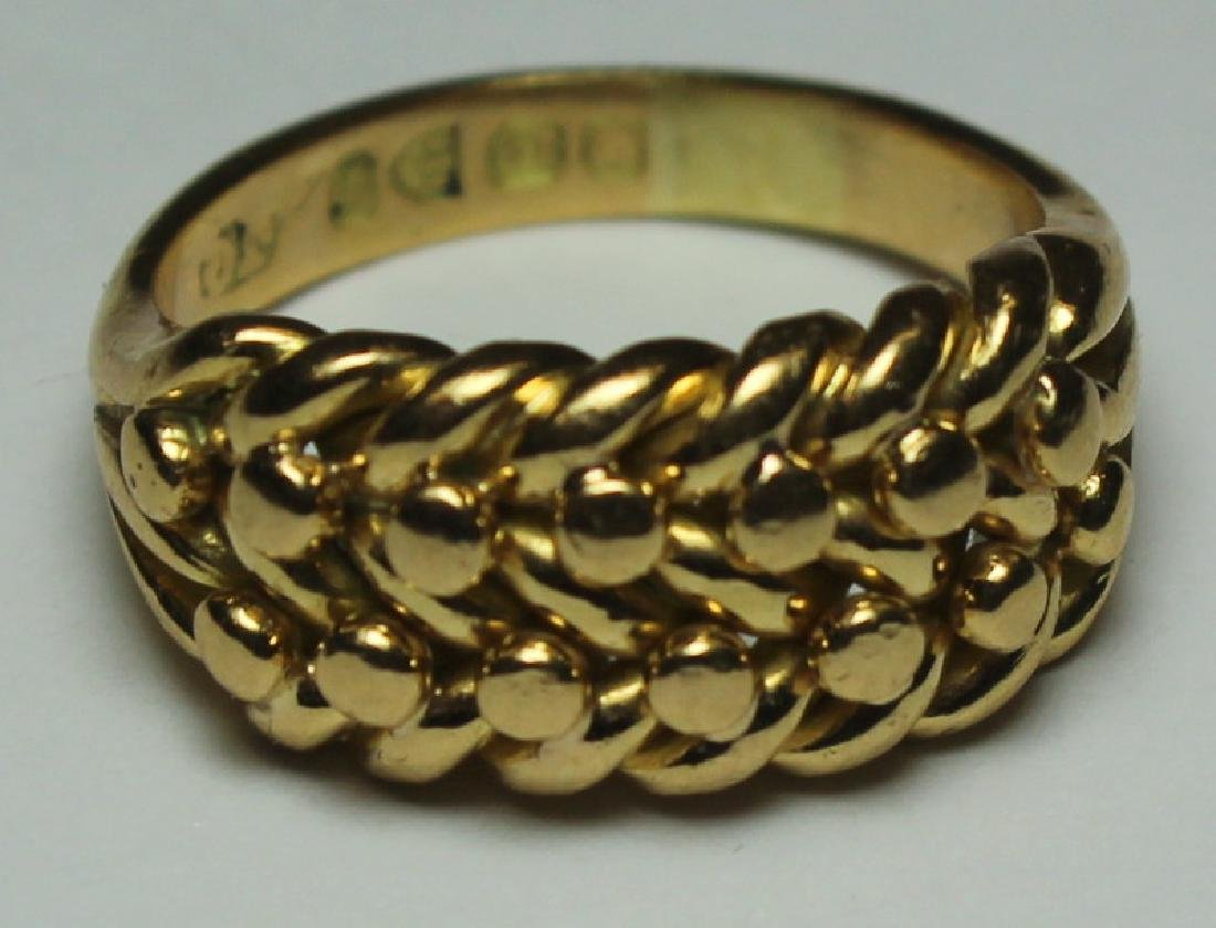 JEWELRY. Assorted 14kt and 18kt Gold Jewelry Group - 8