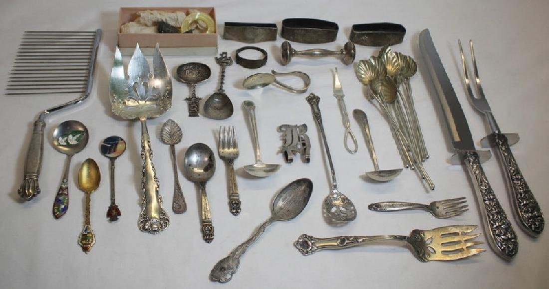 STERLING. Assorted Sterling Flatware and