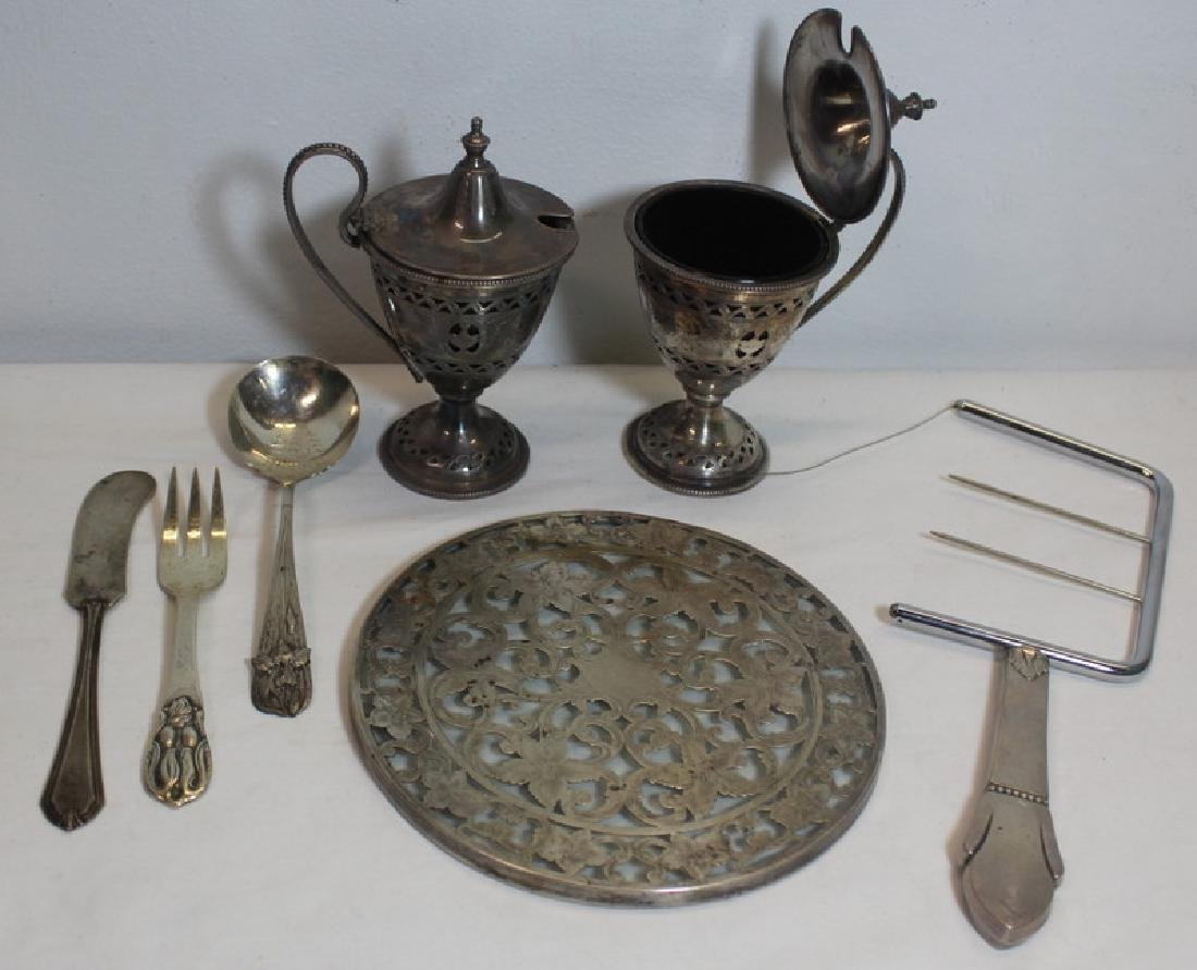 STERLING. Assorted Hollow Ware and Flatware - 10