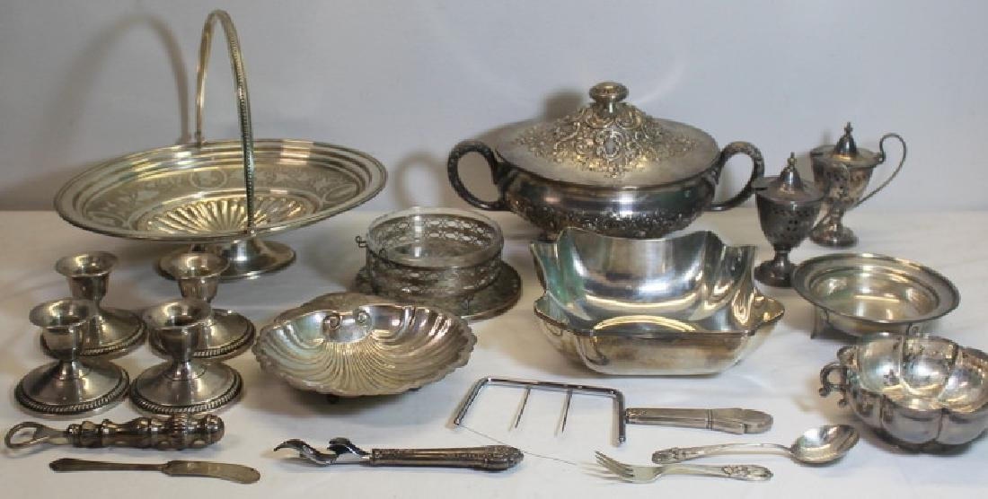 STERLING. Assorted Hollow Ware and Flatware