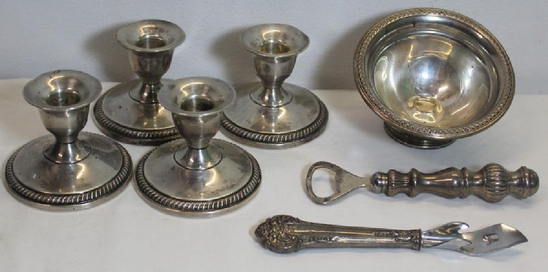STERLING. Assorted Hollow Ware and Flatware - 7