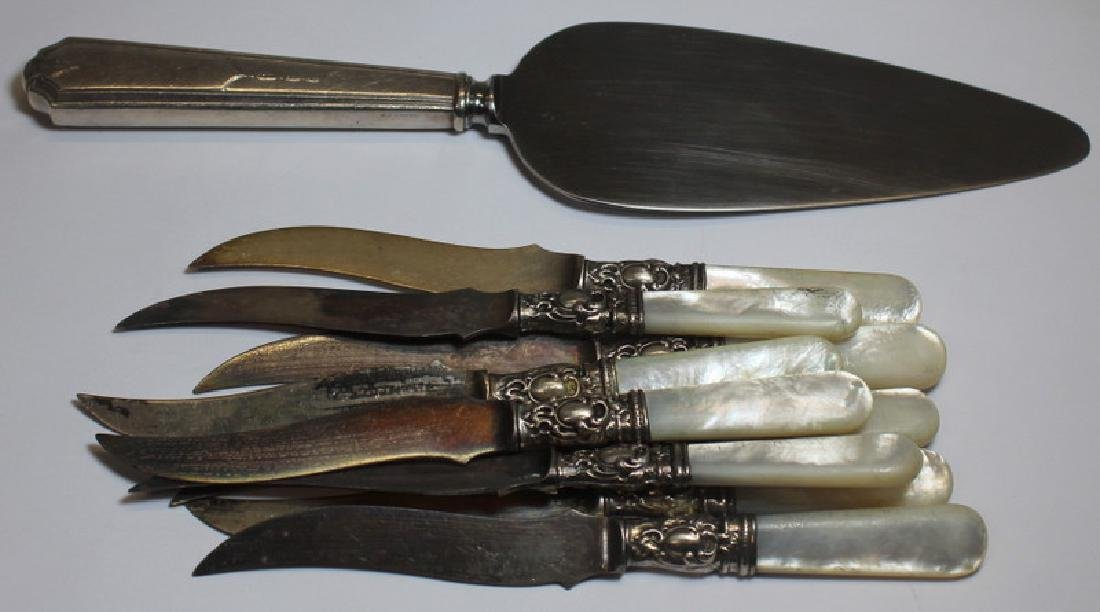 SILVER. Large Grouping of Assorted Flatware and - 16