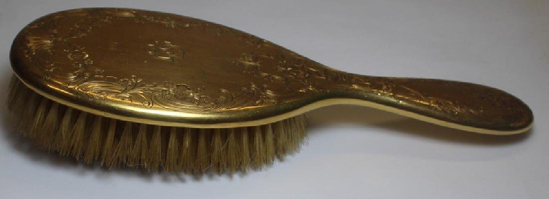 GOLD. Tiffany & Co. 18kt Gold Hair Brush. - 5
